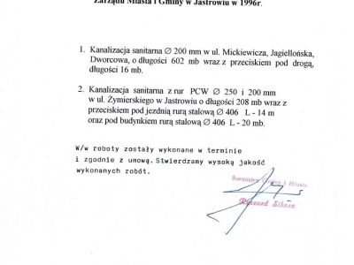 Referencje - 1996 (5)