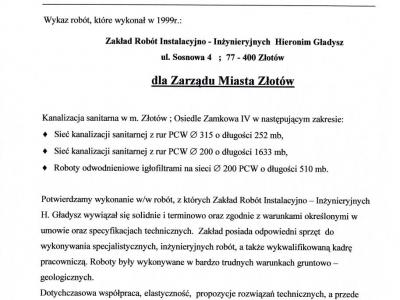 Referencje - 1999 (11)