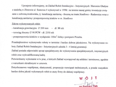 Referencje - 1999 (13)
