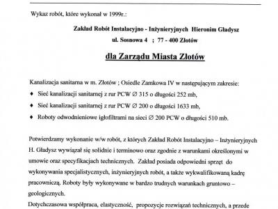 Referencje - 1999 (15)