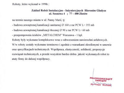 Referencje - 1999 (25)
