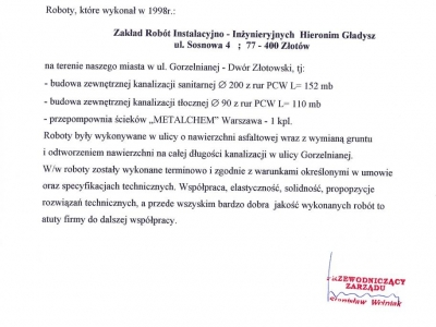 Referencje - 1999 (27)