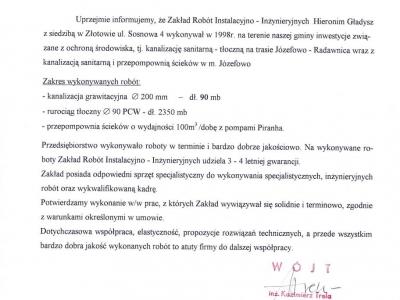 Referencje - 1999 (9)