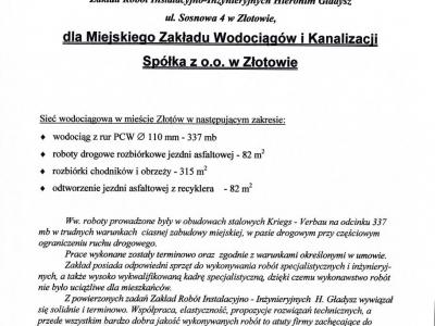 Referencje - 2001 (13)