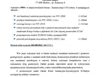 Referencje - 2003 (6)
