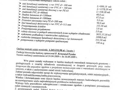 Referencje - 2009 (2)