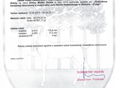 Referencje - 2013 (5)